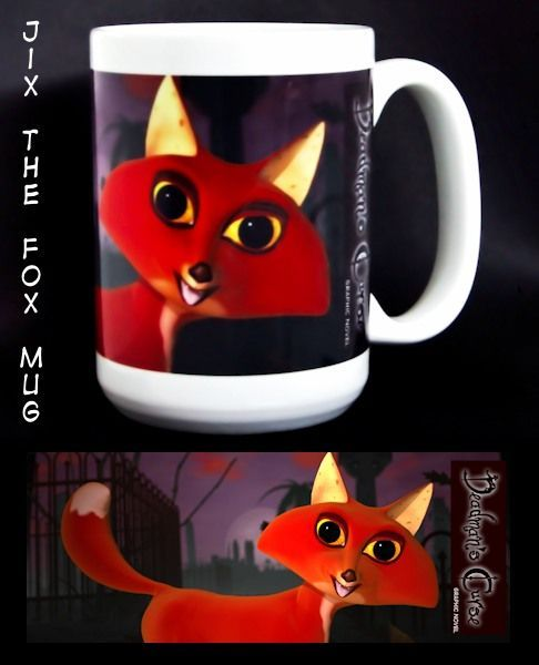 Jix the Fox Mug (440 ml / 15 oz)